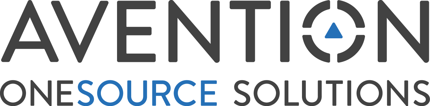 Avention OneSource Solutions logo RGB